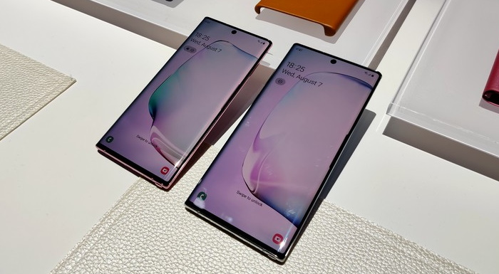 Galaxy Note 10 and Note 10 Plus